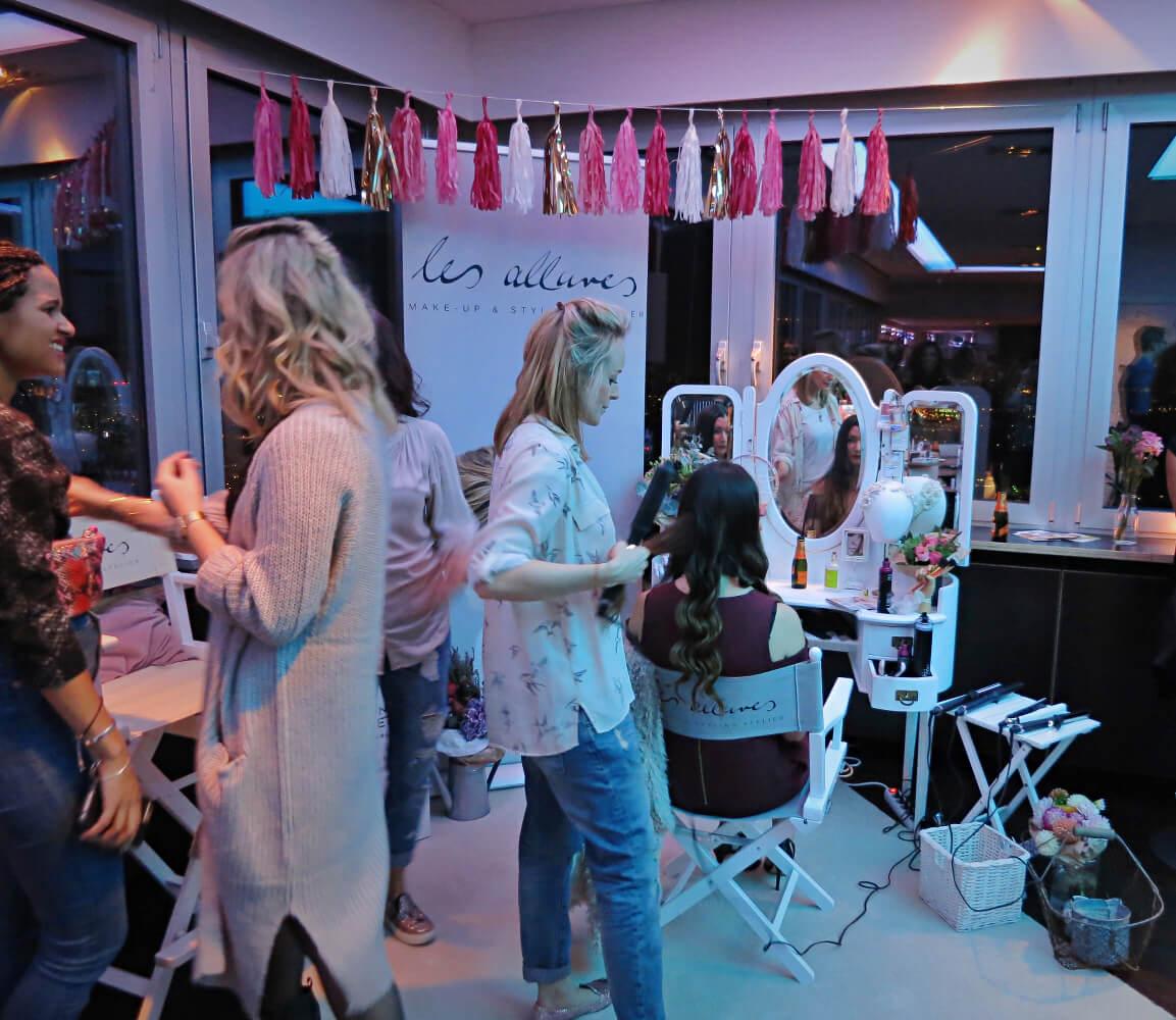 Bloggertreffen Haarstyling