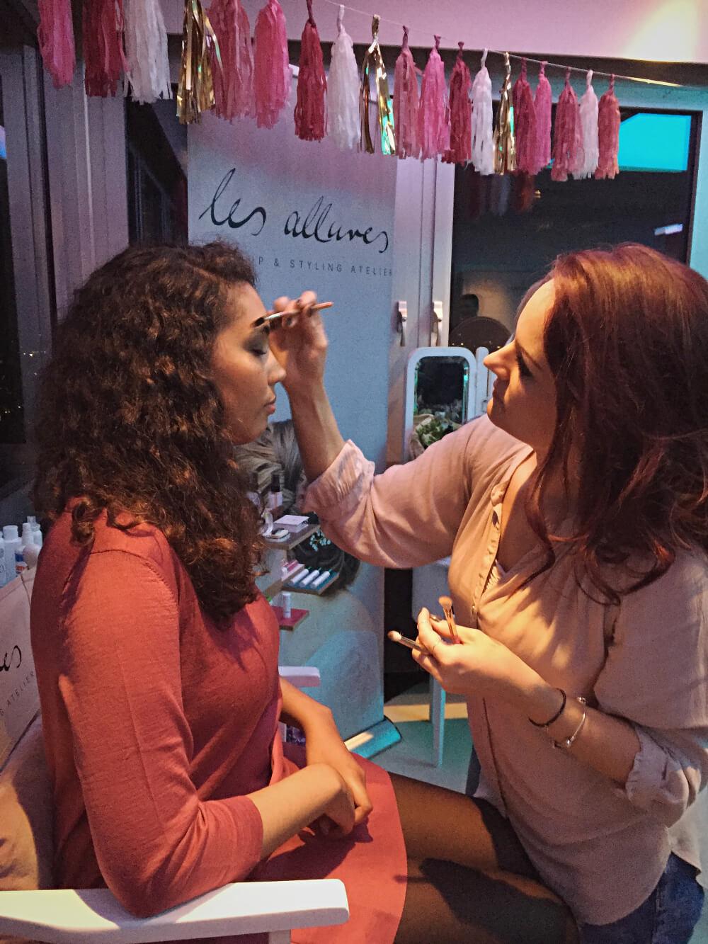 Bloggertreffen Make-up