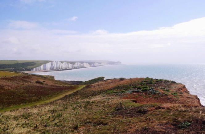Brighton Steilküste