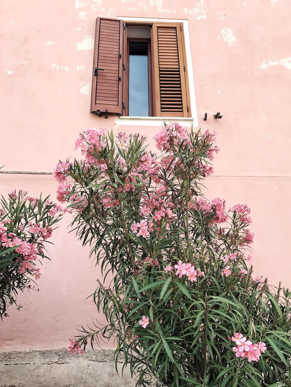 Sardinien Häuser
