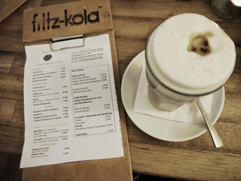 Café Wohnraum Köln Latte Macchiato