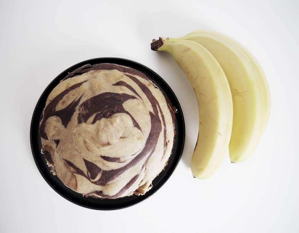 Veganer Bananenkuchen Form