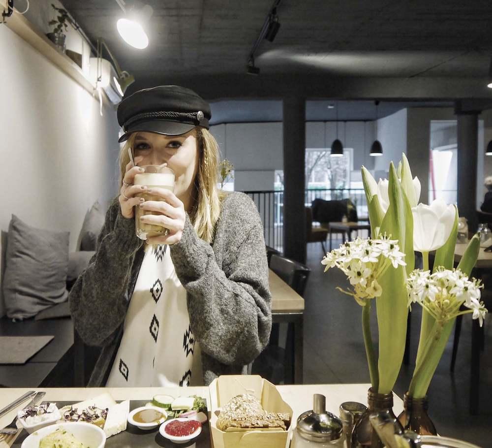 Latte Macchiato Café Heimisch