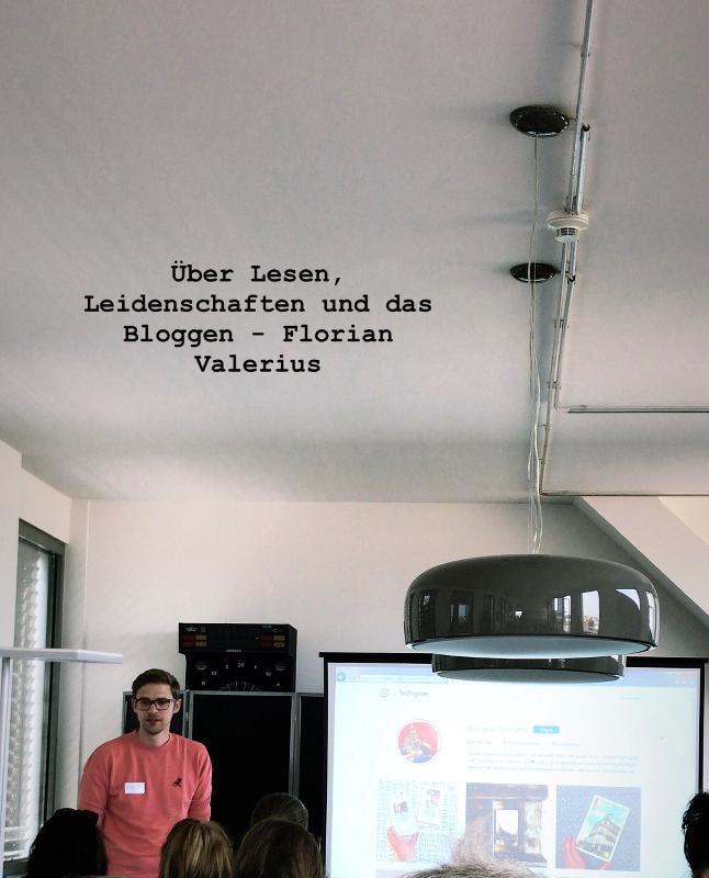 Florian Valerius LitBlog Convention