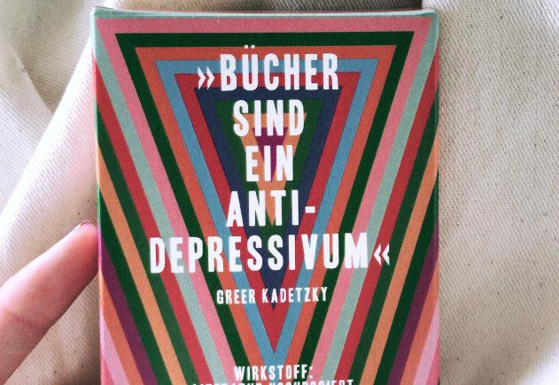 Bücher sind ein Anti-Depressivum