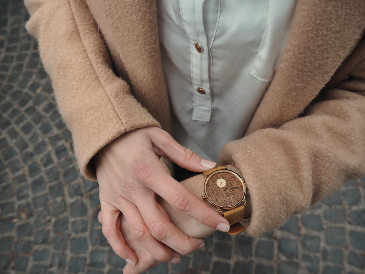 Kerbholz Uhr