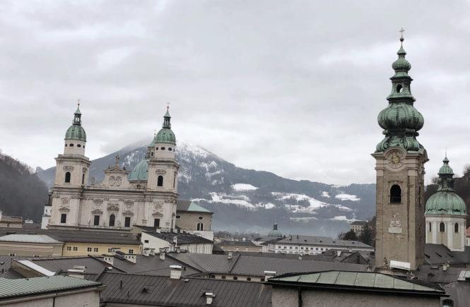 Ausblick Salzburg Mönchsberg