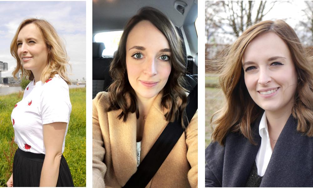Von Blond auf Braun färben