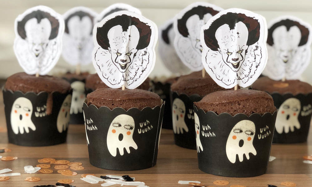 Pennywise Stephen King Halloween Muffins