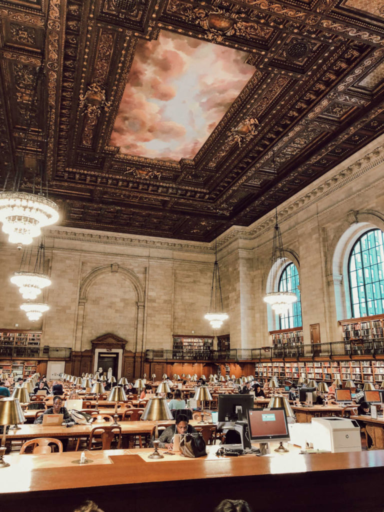 New York Public Library innen
