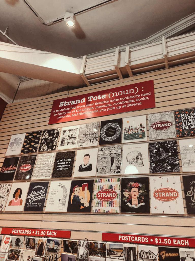Strand Bookstore innen