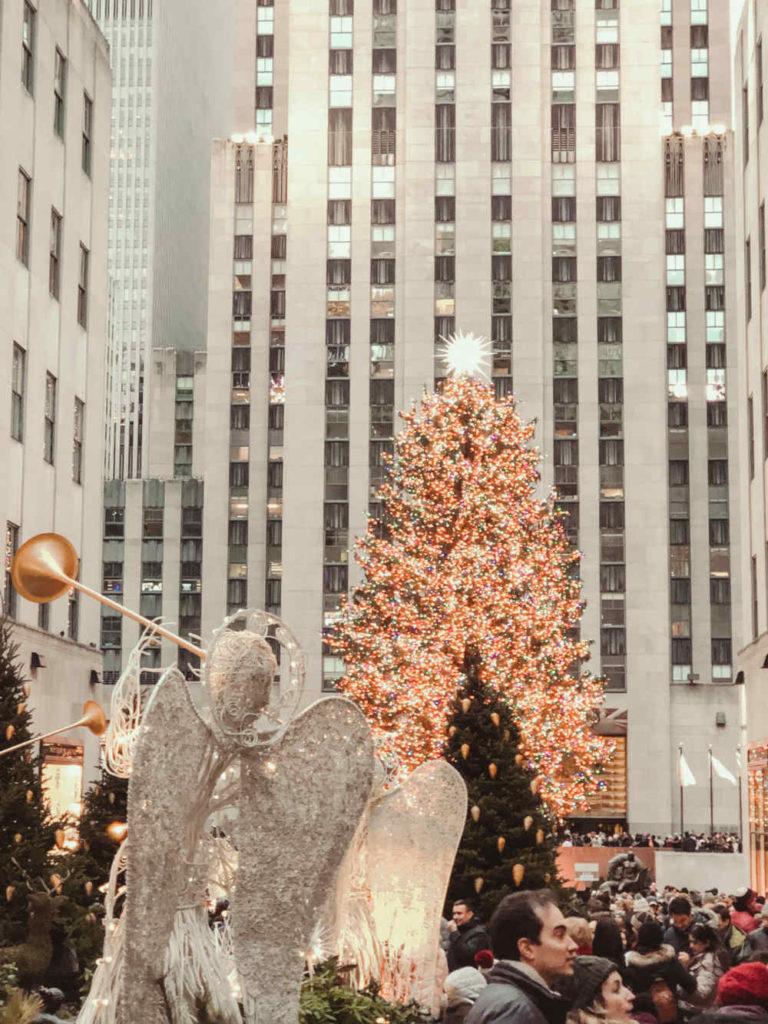 Rockefeller Plaza Weihnachtsbaum