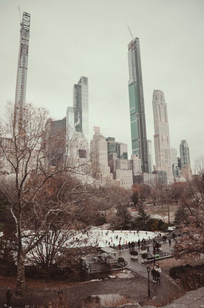 Spaziergang im Central Park