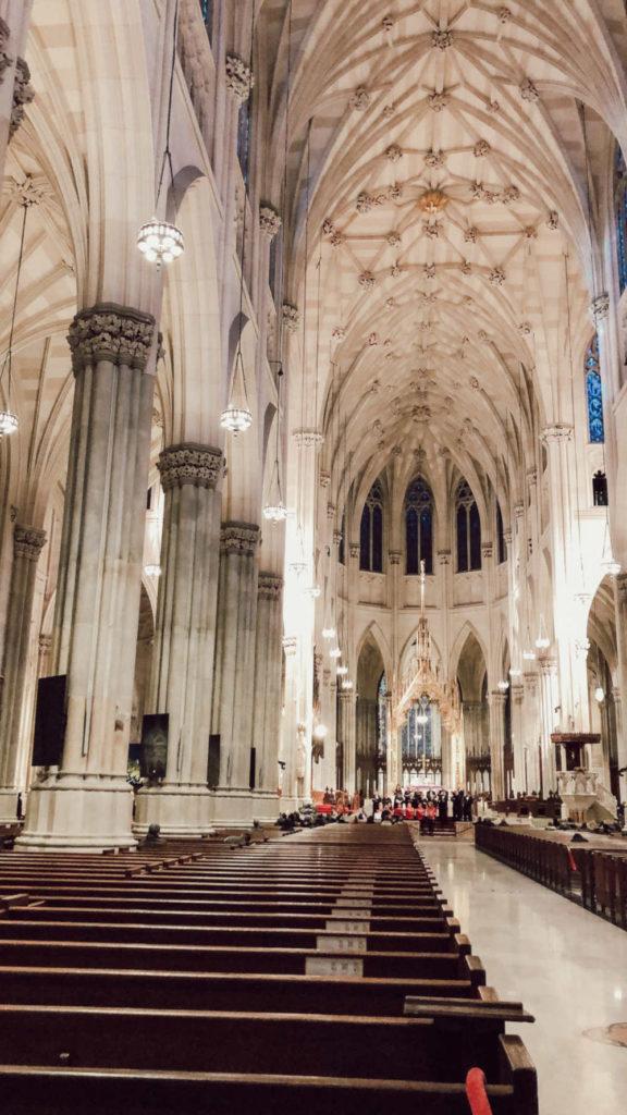 St. Patrick's Cathedral NYC von innen