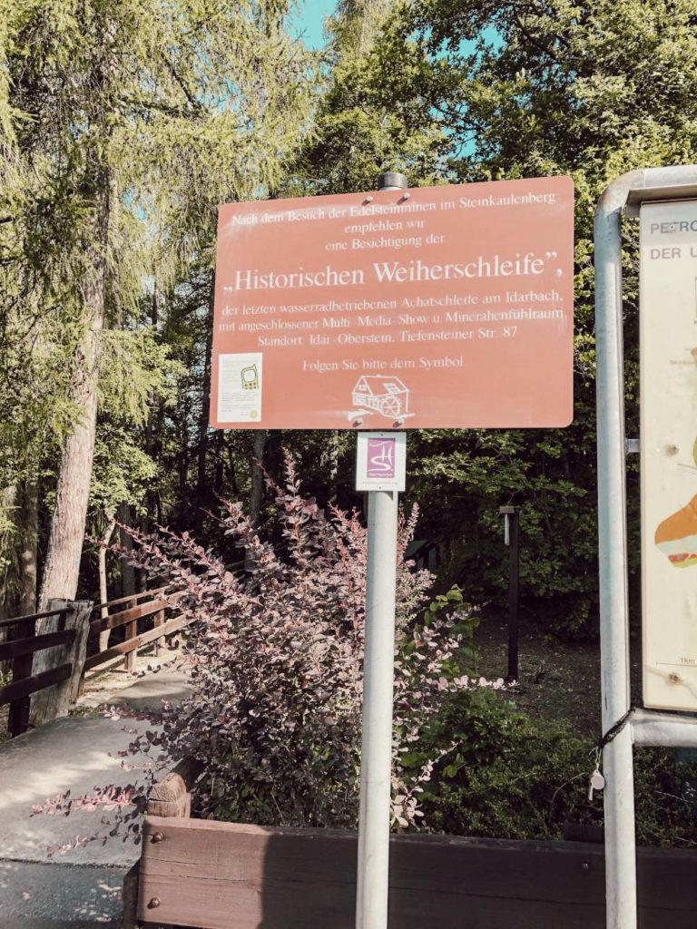 Historische Weiterschliefe Idar-Oberstein