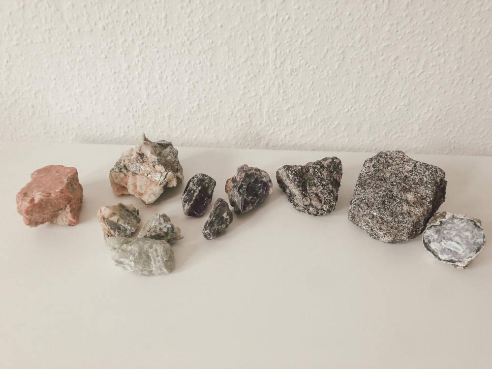 Schürffeld Funde Idar-Oberstein